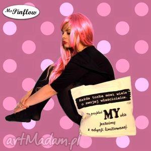 torba zakupowa, co mówi o tobie twoja, torba, shopping, napis