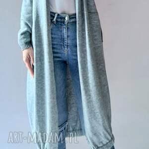 bomberka długi sweter z kieszeniami, sweter, bomberka, bomber, kieszeniami