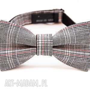 Prezent mucha GRAY, krawat, mucha, impreza, urodziny, imieniny, prezent