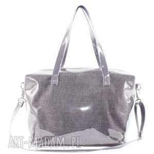 podróżne torba podróżna grey- bagaż podręczny do samolotu, duża, pojemna, wodoodporna