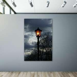 good night - foto obraz, latarnia, noc, fotografia, zdjecie