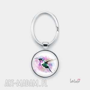 pod choinkę prezent, brelok do kluczy koliber, ptak, nektar, kwiat