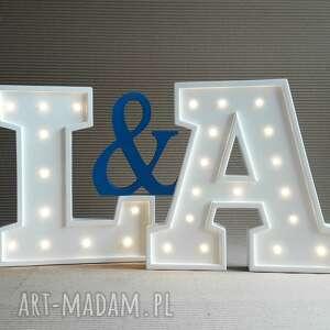 święta prezent, podświetlana litera a, dziecko, literka, lampka, lampa, wieczór, led