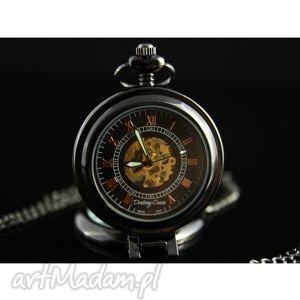 zegarki elegancja czerni i - glove, zegarek biżuteria