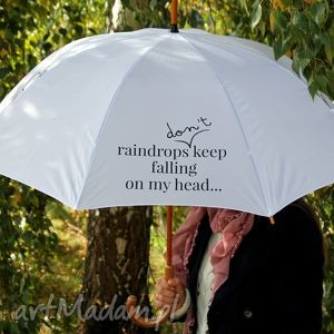 parasole raindrops dont keep falling on my head white, parasol, parasole, parasolki