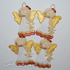 hand made pomysł na prezent pod choinkę anielski chór - Anioły