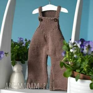 Spodnie ogrodniczki dla lalki albo dla misia ok. 40 cm. - Hand-Made
