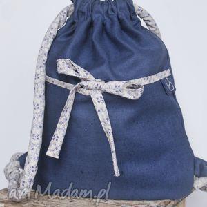 plecaki lniany plecak, len, worek, podręczny torebki, pod choinkę prezenty