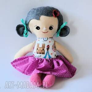 lala tośka - julka 35 cm, lalka, tośka, dziewczynka, roczek, chrzciny, francja