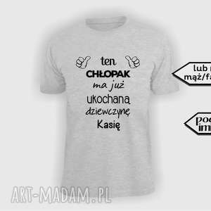 8b458f70c983 hand-made na święta prezent koszulka z nadrukiem dla chłopaka