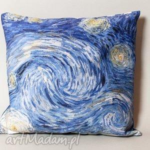 ręcznie wykonane poduszki poszewka na mała poduszkę (jasiek) - van gogh