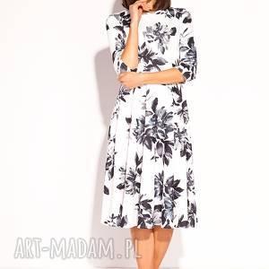 6e8847c7b7 nietuzinkowe sukienki - sukienka wełną zdobiona