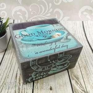 pudełka herbaciarka, szkatułka drewniana dr24, pudełko, drewno