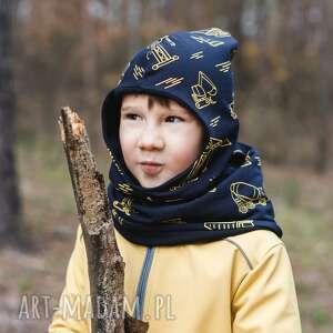 kominiarka czapka-skrzata pojazdy, dla dzieci, czapka dziecka