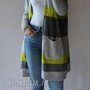 swetry klasyczny sweter z kieszeniami, klasyczny, uniwersalny, prosty, damski