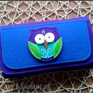 duzy portfel z sowa, catoo, prezent, portfel, portfelik