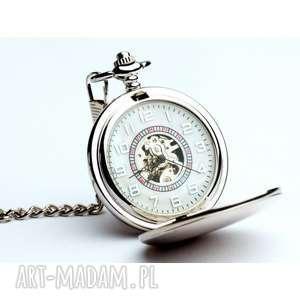klasyczna elegancja - zegarek na łańcuszku, zegarek, nałańcuszku