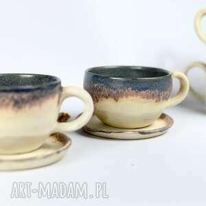 Ceramika azulhorse na prezent, kubek do kawy, beżowa filiżanka