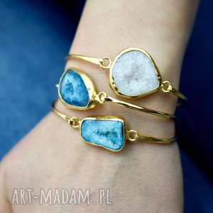 Prezent Agat pozłacana bransoletka, agat, kamień, pozłacana, lato, prezent, kobieca