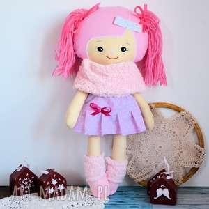 lalki cukierkowa lalka edytka 43 cm - wersja zimowa, lalka, dziewczynka, kotek