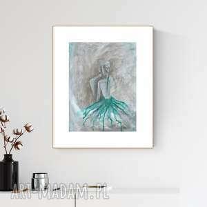 art krystyna siwek obraz ręcznie malowany 30 x 40 cm, nowoczesna abstrakcja