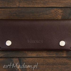 portfele portfel skórzany czekoladowy, portfel, portfelik, skóra, skórzany, naturalny