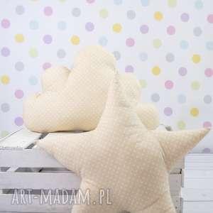 pokoik dziecka poduszka w kształcie gwiazdy beżowa, poduszka, dziecko, dekoracja