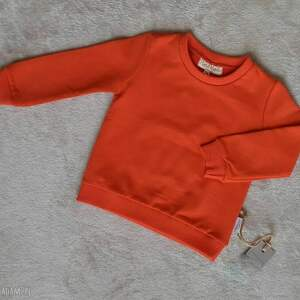 Bluza dziecięca lilla bez kaptura, dla dziewczynki, chłopca,
