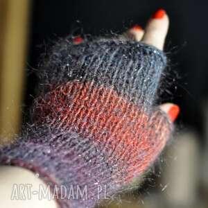 The Wool Art: mitenki rękawiczki dodatki, wełniane, prezent