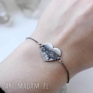 hand-made bransoletka z miłości do gór