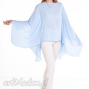 bluzka aleksandra - błękitna, moda ubrania