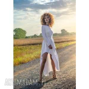 Cristina patria maxi white sukienki milita nikonorov ślub
