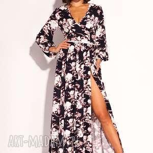 święta, sukienka oriana, wiskozowa, letnia, przewiewna, kwiaty, kolorowa