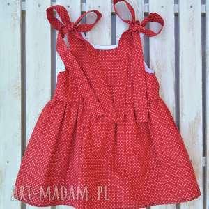 Sukienka ladybird ilovemama bawełniana, w-groszki, sukienka