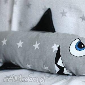 rekin bodzio przytulanka - rekin, przytulanka, rubenart, buraczekdesign, bawełna