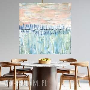 obraz abstrakcyjny 90x90