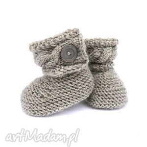buciki botki, buciki, skarpety, niemowlę, dziewczynka, wełna