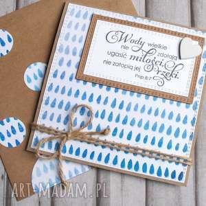 kartka ślubna :: wody wielkie I, cytat, ślub