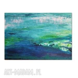 głębia 29, abstrakcja, obraz ręcznie malowany, obraz, ręcznie, nowoczesne