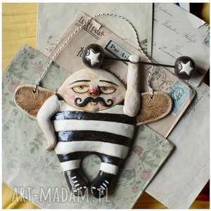 Ceramika wylegarnia pomyslow ceramika, anioł, atleta,