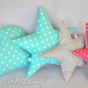 hand-made pokoik dziecka zestaw poduszek -chmurka, gwiazdki