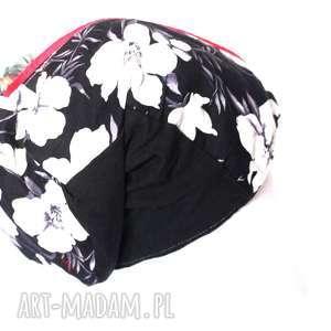 czapka damska patchworkowa etno, czapka, patchwork, boho, kolorowa, damska