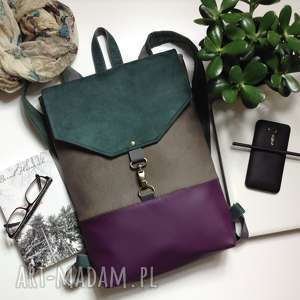 unikalny, plecak, plecak na laptopa, mini damski