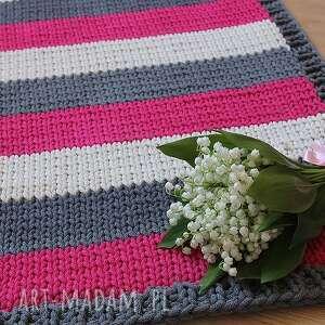 dywan funny colours, dywan, chodnik, dywanik, handmade, bawełna