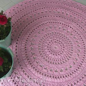 dywan do pokoju dziewczynki - dziewczynki, dywan, różowy