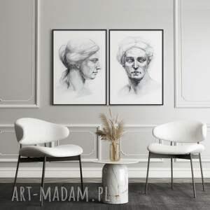 plakaty zestaw plakatów muzy 40x50 cm, plakaty, sztuka, antyk, kobiety, plakat