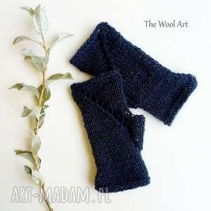 świąteczny prezent, rękawiczki mitenki, rękawiczki, bez palców, na ręce