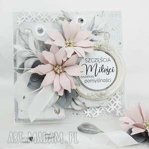 scrapbooking kartki szczęścia, miłości - w pudełku, urodziny, rocznica
