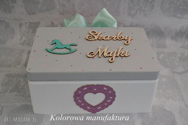 handmade zabawki pudełko na skarby dziecka - 02