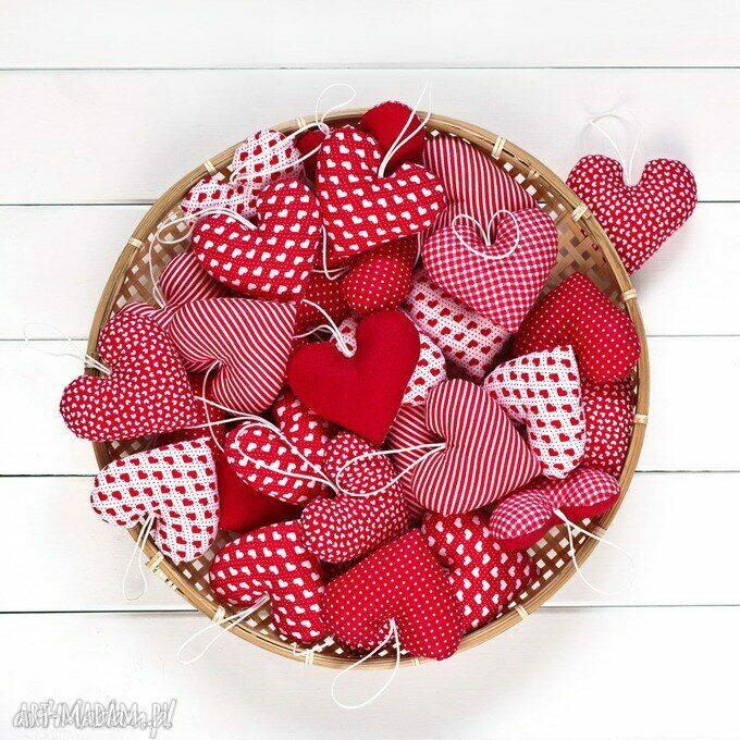 handmade ślub serca mix 50 szt. ślub, podziękowania dla gości